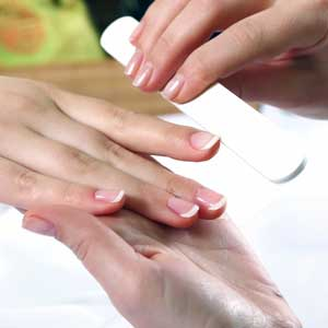 Get a manicure at The Beauty Spa in Englewood, NJ