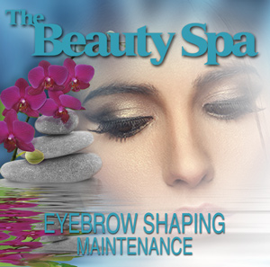 Get an eyebrow shaping maintenance appointment in our Englewood, NJ spa.