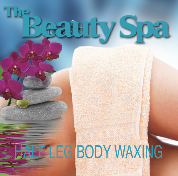 Half Leg Waxing appointment at The Beauty Spa in Englewood, NJ