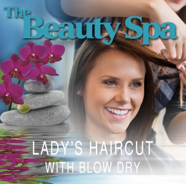 Lady's Hair Cut with blow dry-Beauty Spa In Englewood, NJ