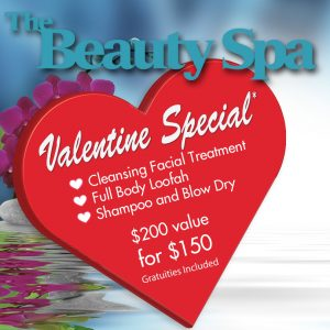 Valentine's Day Special at The Beauty Spa in Englewood, NJ